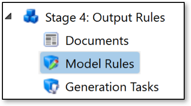 DriveWorks Model Rules