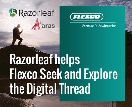 Aras Ace 2021 - Razorleaf Helps Flexco Seek and Explore the Digital Thread
