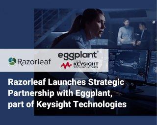 Razorleaf Announces Partnership with Eggplant